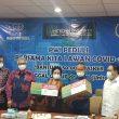 PWI Pusat Terima Donasi 50 Ribu Masker