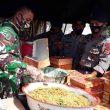 TNI, Polri & Pemkab Buru Buka Dapur Lapangan