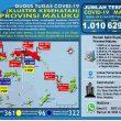 Update Covid-19 Di Maluku 23 Juli: Total Kasus Capai 1.010