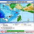 Gempa M 5,3 Terjadi Di Perairan Utara Aru