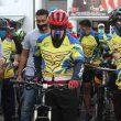 Gubernur Maluku Bersama Sejumlah Pejabat Gowes Peringati HBA