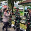 Kapolda Maluku Sambangi Markas Kipan D Yonif 731/Kabaresi