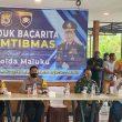 Bacarita Kamtibmas Bersama Kapolda Maluku, Bupati SBT Optimis Pilkada Aman