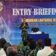Entry Briefing Danlantamal Ambon
