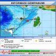 Gempa M 4,4 Terjadi Di Laut Aru