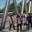 Gubernur Maluku Tinjau Jembatan Waikaka