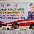 Didatangi Kapolda Maluku, Ini Yang Dilaporkan KPU & Bawaslu SBT