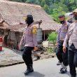Kapolres Malteng Sambangi Sejumlah Kampung