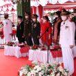 HUT Ke-75 RI, Wagub Maluku Pimpin Upacara Penurunan Bendera