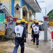 Sejumlah Masjid Di Ambon Terus Disterilkan Brimob Maluku