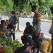Brimob Patroli Ajak Warga Masohi Taati Protokol Kesehatan