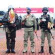 Sejumlah Personel Brimob Maluku Raih Penghargaan