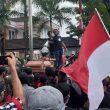 Tuntut Cairkan Dana Gempa, AKM Datangi Balai Kota Ambon