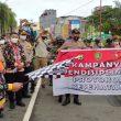 Bhabinkamtibmas & Babinsa Di Maluku Mulai Bagikan 270 Ribu Masker Gratis
