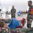 Jelang HUT Ke-75 TNI, Lantamal Ambon Gelar Donor Darah