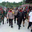Sambangi Negeri Aboru, Ini Pesan Pangdam Pattimura & Kapolda Maluku