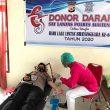 Jelang Hari Lalu Lintas, Polres Malteng Gelar Donor Darah