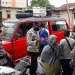 Sambangi Warga, Brimob Maluku Sosialisasi Protokol Kesehatan