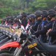 Ratusan Personel Brimob Maluku Disiagakan Amankan Demo UU Cipta Kerja