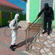 Giliran Masjid Di Tual Disterilkan