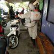 Cegah Klaster Baru Covid-19, Brimob Kembali Sterilkan Kawasan Teluk Ambon