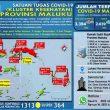 Update Covid-19 Di Maluku 10 Oktober: Tambah 41 Kasus Baru Dari 5 Kabupaten/Kota