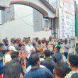 Didemo HMI, Kadis Nakertrans Maluku Tak Mau Teken Penolakan UU Cipta Kerja