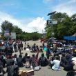 Tolak UU Cipta Kerja, Ratusan Mahasiswa Di Ambon Sempat Blokir JMP