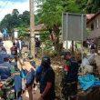 Gugus Tugas Covid-19 Kota Ambon Sosialisasi Protokol Kesehatan Di Batu Merah