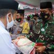 Hadiri Hari Santri Nasional Di Ternate, Pangdam Pattimura Beri Bantuan Beras