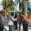 Dirbinmas & Kapolres Sambangi Kampung Tangguh Nusantara Polres Aru