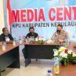 Sambangi KPU & Bawaslu Aru, Pamatwil Polda Maluku Minta Utamakan Protokol Kesehatan
