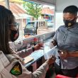 Cegah Covid-19, Personel Polres Aru Terapkan Protokol Kesehatan Saat Pengamanan Calkada