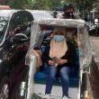 Kisah Tukang Becak Di Ambon Terapkan Protokol Kesehatan