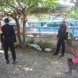 Brimob Maluku Terus Sosialisasi Protokol Kesehatan