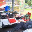 Jelang HUT Ke-75, Brimob Maluku Gelar Donor Darah