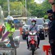 Brimob Perkuat Pengamanan Check Point PSBB Di Ambon