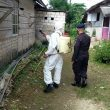 Brimob Kembali Guyur Disinfektan Di Permukiman Warga Tual