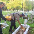 Sambut HUT Ke-46, Detasemen Gegana Satbrimobda Maluku Ziarah