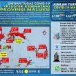 Update Covid-19 Di Maluku 15 November: Semua Kabupaten/Kota Ada Kasus Terkonfirmasi Positif
