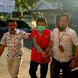 Usai Ditangkap Di Jambi, Terpidana Korupsi WFC Namlea Tiba Di Kejati Maluku