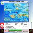Gempa M 5,3 Guncang Wilayah Seram Barat, Namlea & Ambon