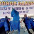Jelang HUT Ke-70, Ditpolairud Polda Maluku Gelar Aksi Donor Darah
