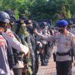 Jelang Pilkada, Brimob Maluku Gelar Apel Kesiapsiagaan
