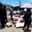 Sambangi Pedagang, Brimob Maluku Edukasi Protokol Kesehatan