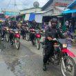 Cipta Kondisi Jelang Tahun Baru 2021 Di Dobo, Brimob Patroli Skala Besar