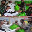 Pemkot Ambon Bagi Bantuan Ke Pos TNI/Polri, Babinsa & Bhabinkamtibmas