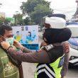 Satlantas Polres Malteng Tertibkan Pengendara Tak Bermasker
