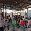 Polres Aru Berbagi Bersama Anak Yatim Di Tengah Pandemi Covid-19