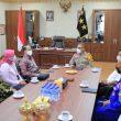 Wakil Ketua LPSK Temui Wakapolda Maluku, Ini Yang Dibahas